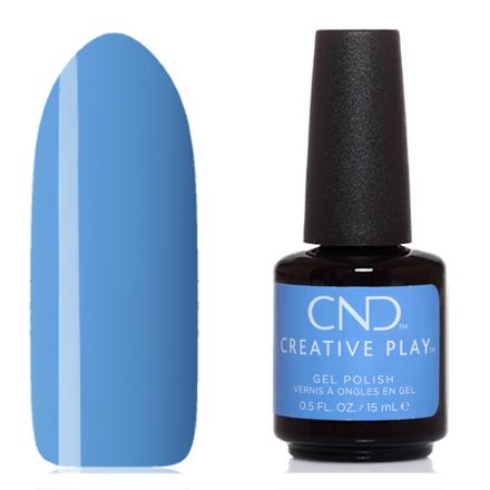Купить CND, Creative Play Gel №438, Iris you would, CND (Creative Nail Design), Синий