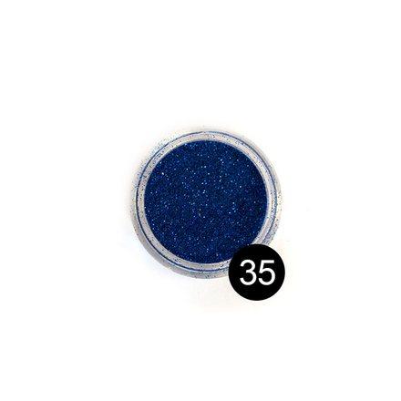 TNL, Дизайн для ногтей: блестки №35