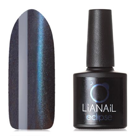 Lianail, Гель-лак Eclipse, Затмение НептунаLianail<br>Магнитный гель-лак (10 мл) на черной подложке, с синими/фиолетовыми микроблестками, полупрозрачный.<br><br>Цвет: Фиолетовый<br>Объем мл: 10.00