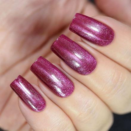 Купить Masura, Лак для ногтей №904-263M, Пурпурный жемчуг, 3, 5 мл, Красный