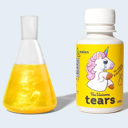 The Unicorn, Сироп Tears Melon, золотой, 100 мл
