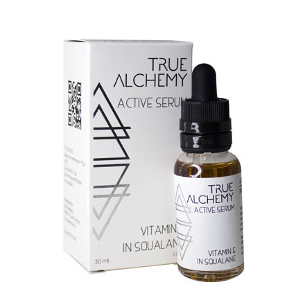 True Alchemy, Активная сыворотка Vitamin E in Squalane, 30 мл
