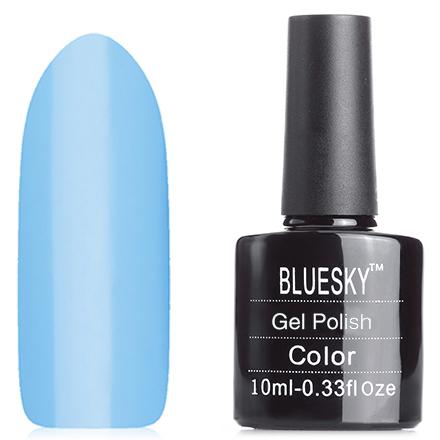 Bluesky, Гель-лак Neon №19Bluesky Шеллак<br>Гель-лак (10 мл) небесно-голубой, без блесток и перламутра, неоновый, полупрозрачный.<br><br>Цвет: Синий<br>Объем мл: 10.00