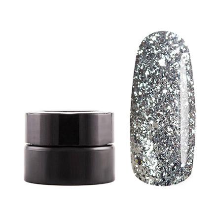Купить Masura, Гель-краска, бриллиантовое серебро, 5 г, Серебряный