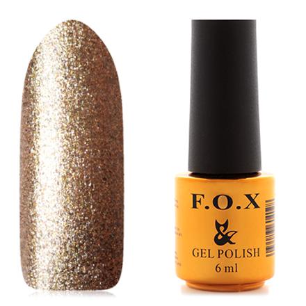 Купить FOX, Гель-лак Pigment №048, F.O.X, Золотой