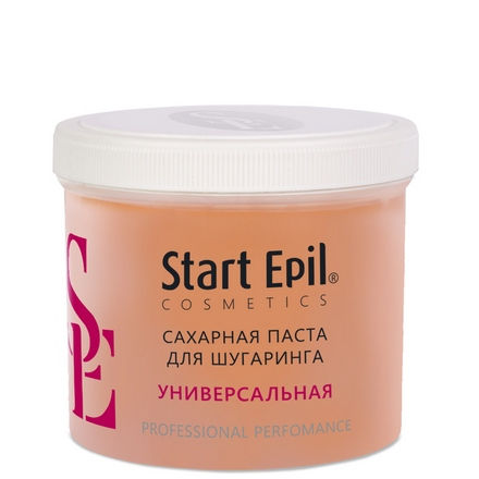 Start Epil, Сахарная паста для депиляции «Универсальная», 750 г