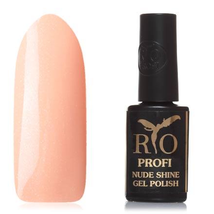 Купить Rio Profi, Гель-лак Nude Shine №15, Персиковый маффин, Оранжевый