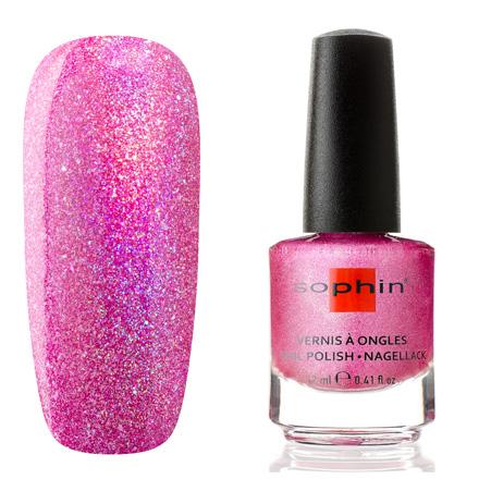 Sophin, Лак для ногтей №0377, Crystal fuchsia