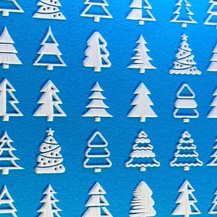 Купить AnnaTkacheva, 3D-слайдер№80, белый «Зима. Новый год», Anna Tkacheva