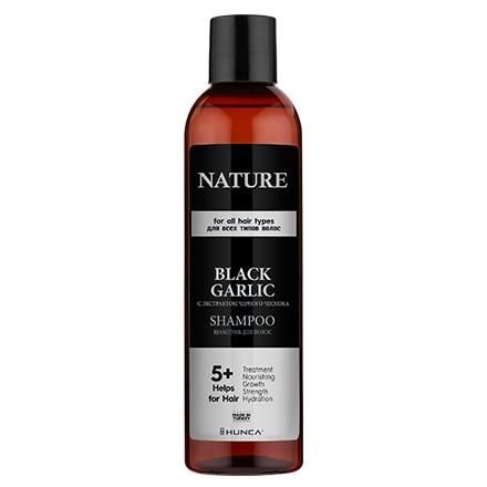 Hunca, Шампунь для волос Black Garlic, 350 мл  - Купить