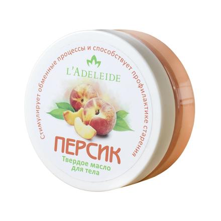 Купить L'Adeleide, Твердое масло для тела «Персик», 150 мл