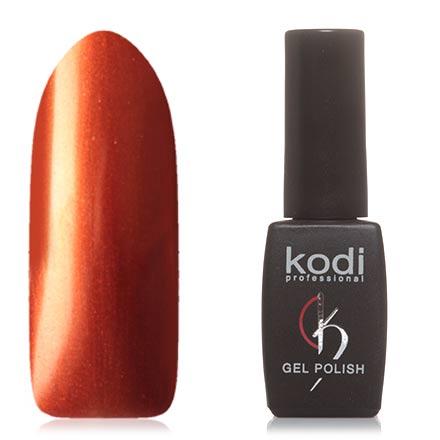Kodi, Гель-лак №H20Kodi Professional<br>Гель-лак (8 мл) насыщенный оранжевый, с эффектом металлик, плотный.