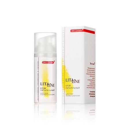 LitaLine, Крем для лица «Питательный» для сухой кожи, 50 млКремы для лица<br>Вечерний крем для интенсивного ухода за кожей лица и шеи.