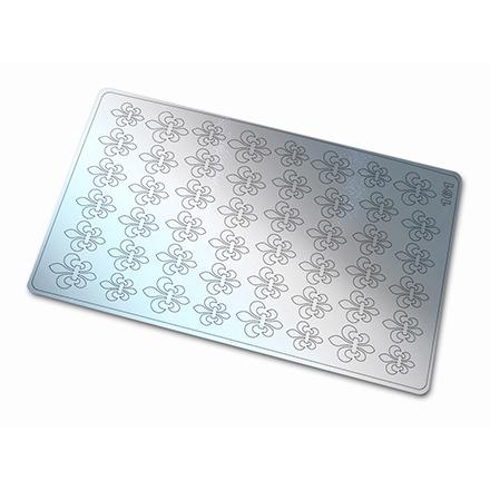 Купить Freedecor, Металлизированные наклейки №161, серебро