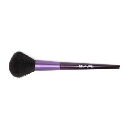 Dewal, Кисть для пудры, фиолетовая, 16 см
