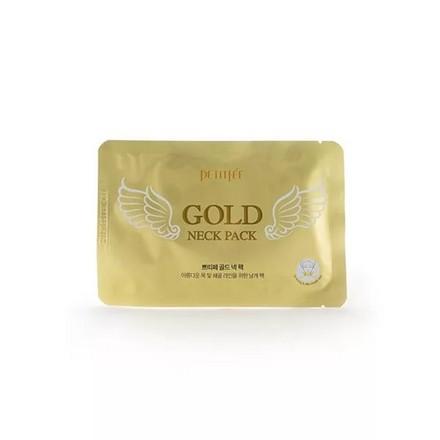 Petitfee, Патчи для шеи Gold, 10 гМаски<br>Гидрогелевые патчи омолаживают и подтягивают кожу шеи.