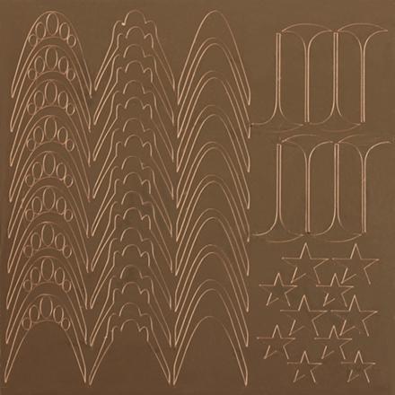 KrasotkaPro, Металлизированные наклейки M4g, золото