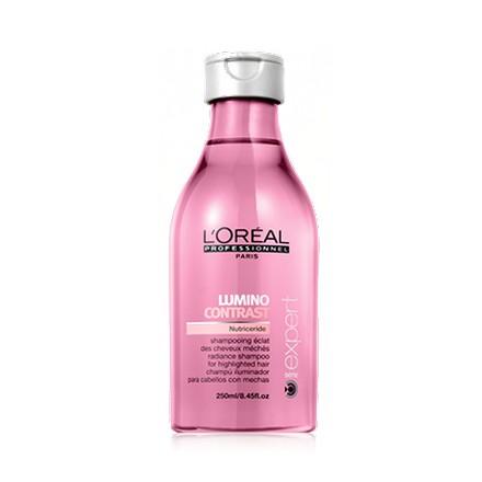 Loreal Professionnel, Serie Expert Lumino Contrast Shampoo, Шампунь, 250 млШампуни для волос<br>Шампунь-сияние для мелированных волос<br><br>Объем мл: 250.00