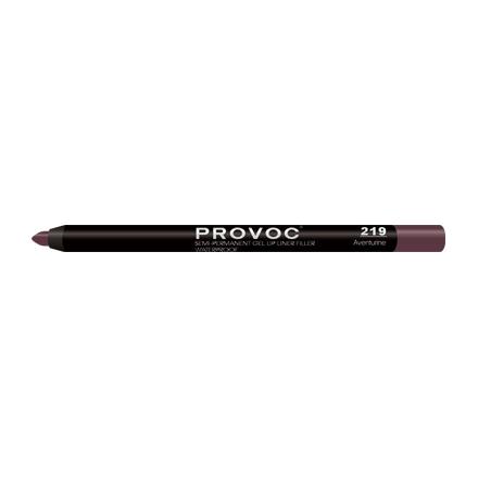 Provoc, Гелевая подводка-карандаш для губ №219, Aventurine, цвет какао
