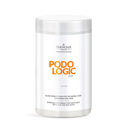 Farmona, Размягчающая соль с кислотами Podologic Acid, 1500 гПедикюрные ванны<br>Соль для педикюрных ванн способствует размягчению грубой кожи.<br>