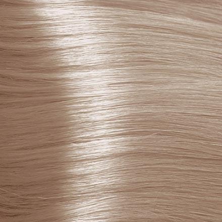 Kapous, Крем-краска для волос Hyaluronic 9.085, очень светлый блондин пастельный розовый, 100 мл kapous крем краска для волос hyaluronic 5 0 светлый коричневый 100 мл
