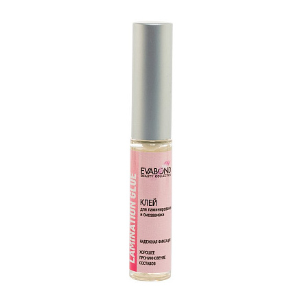 EVABOND, Клей универсальный для ламинирования и биозавивки ресниц Beauty Collection, 5 мл