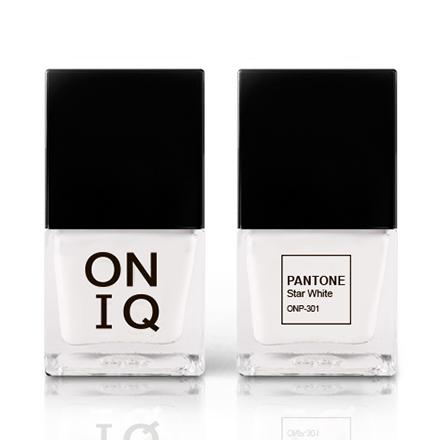 Купить ONIQ, Лак для ногтей Pantone, Star White, Белый