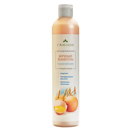 Купить L'Adeleide, Шампунь для волос «Яичный», 350 мл