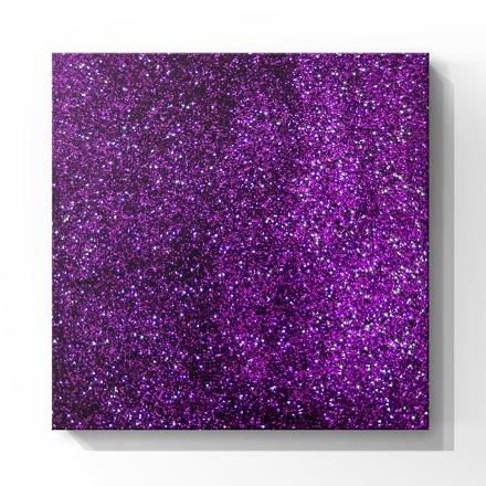 Купить De.Lux, Глиттер фиолетовый, 0, 2 мм, Фиолетовый