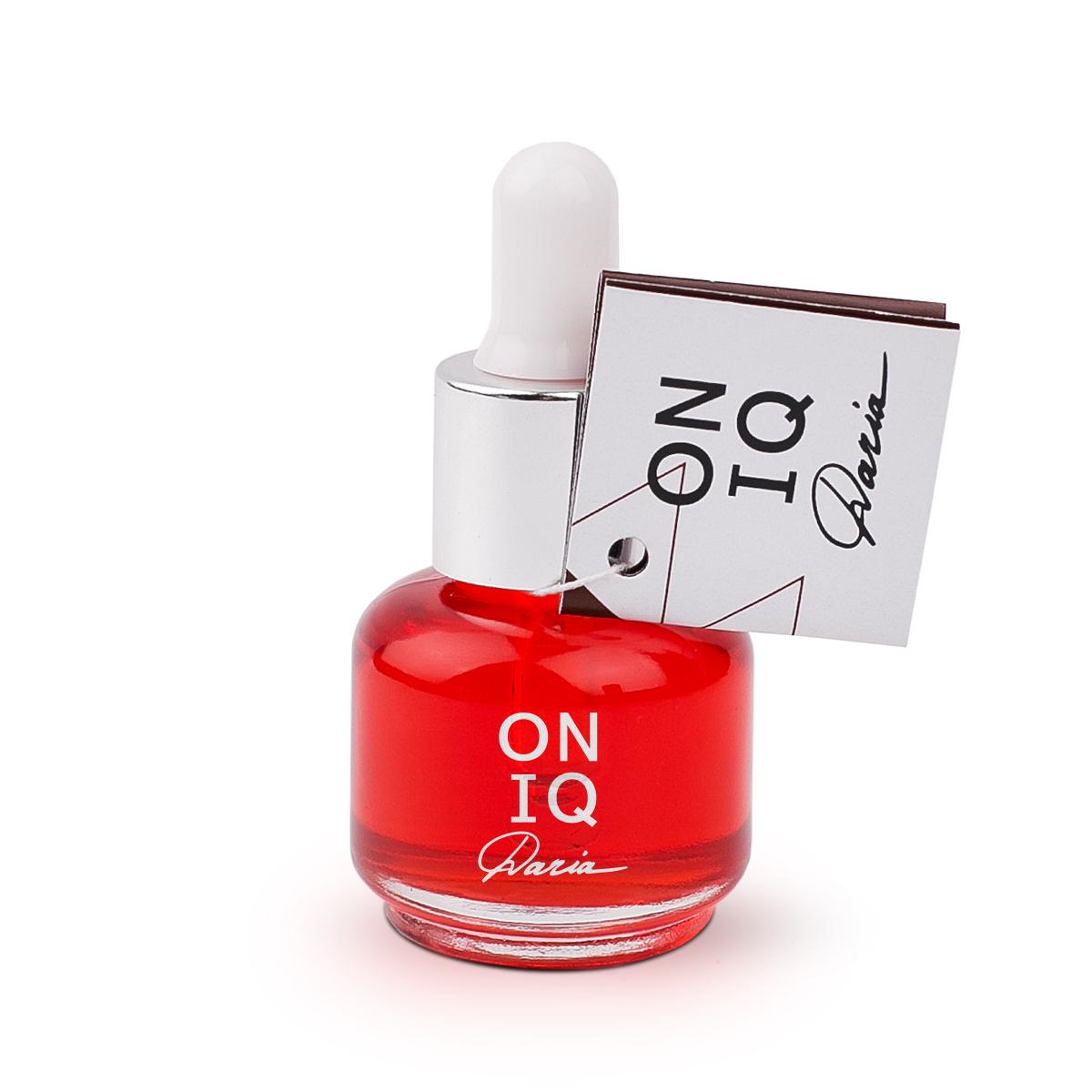 Купить ONIQ, Масло для кутикулы Daria с ароматом клубники, 15 мл
