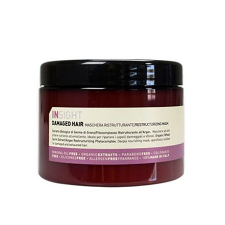 INSIGHT, Маска Damaged Hair, 500 млМаски для волос <br>Восстанавливающее средство для поврежденных волос.