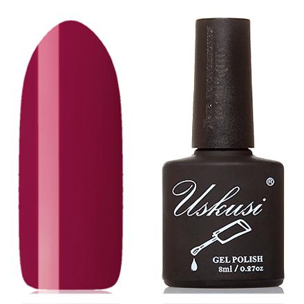Uskusi, Гель-лак №012Uskusi<br>Гель-лак (8 мл) темно-малиновый, без перламутра и блесток, плотный.<br><br>Цвет: Красный<br>Объем мл: 8.00