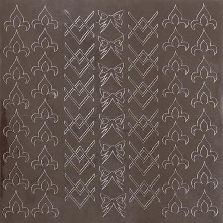 KrasotkaPro, Металлизированные наклейки M7s, серебро