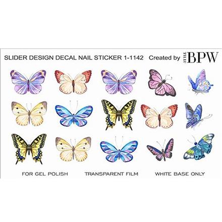 Купить BPW.Style, Слайдер-дизайн «Бабочки» №1-1142