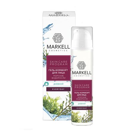 Markell, Гель-комфорт для лица Everyday «Морские водоросли», 50 мл