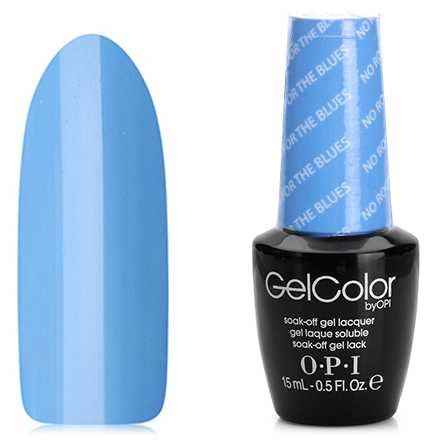 OPI GelColor, Гель-лак No Room For The Blues B83