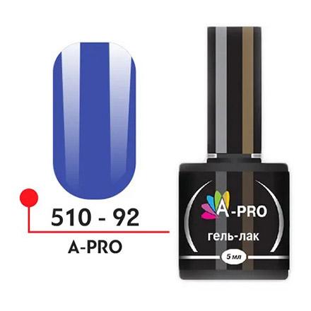 Купить A-Profi, Гель-лак A-PRO №92, Синий