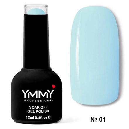 Купить YMMY Professional, Гель-лак «Бирюзовая мечта» №001, Голубой