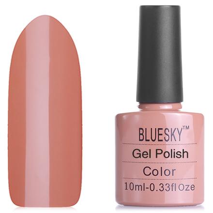 Bluesky, Гель-лак №40514/80514 CocoaBluesky Шеллак<br>Гель-лак (10 мл) цвет кофе с молоком, теплый оттенок, без блесток и перламутра, плотный.