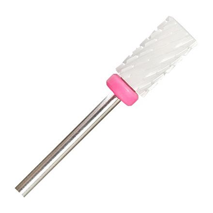 IRISK, Фреза керамическая «Цилиндр», розовая, D=6 мм
