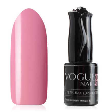 Vogue Nails, Гель-лак Утонченная модельVogue Nails<br>Гель-лак (10 мл) приглушенный розовый, без блесток и перламутра, плотный.