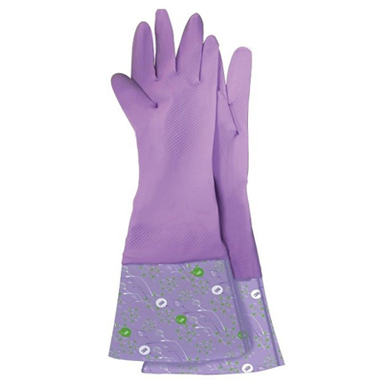 Фото - Meine Liebe, Перчатки хозяйственные с манжетой «Чистенот», размер М перчатки elfe хозяйственные с манжетой 1 пара размер m цвет розовый