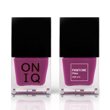 Купить ONIQ, Лак для ногтей Pantone, Phlox, Фиолетовый