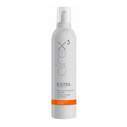Estel, Мусс Curex Airex, для создания локонов с сильной фиксацией, 400 мл