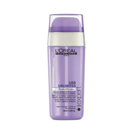 Loreal, Serie Expert Liss Unlimited Double Serum, SOS-сыворотка двойного действия, 30 мл (LOreal)