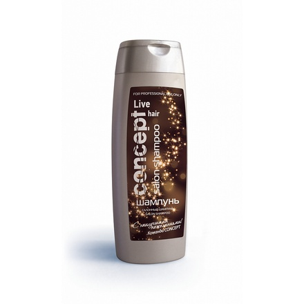 Concept, Шампунь Салонный, Salon Shampoo, 250 мл (Подарок)