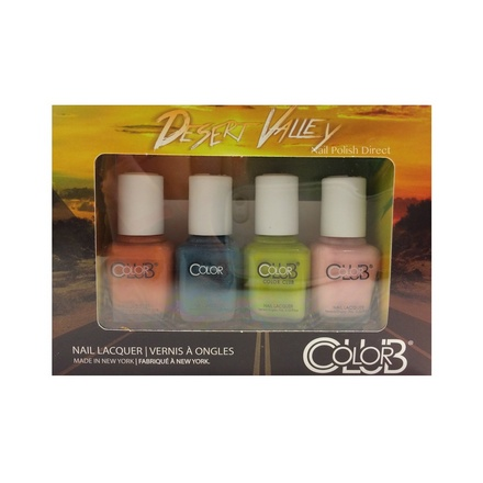 Color Club, Набор лаков Desert Valley Mini Gift Set (4 лака)