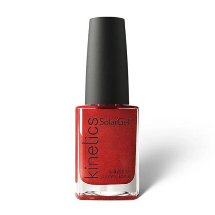 Купить Kinetics, Лак для ногтей SolarGel №489, Iron Red, Красный