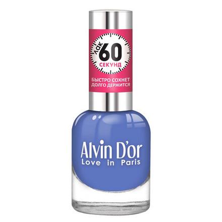 Купить Alvin D'or, Лак «60 секунд» №31, Синий