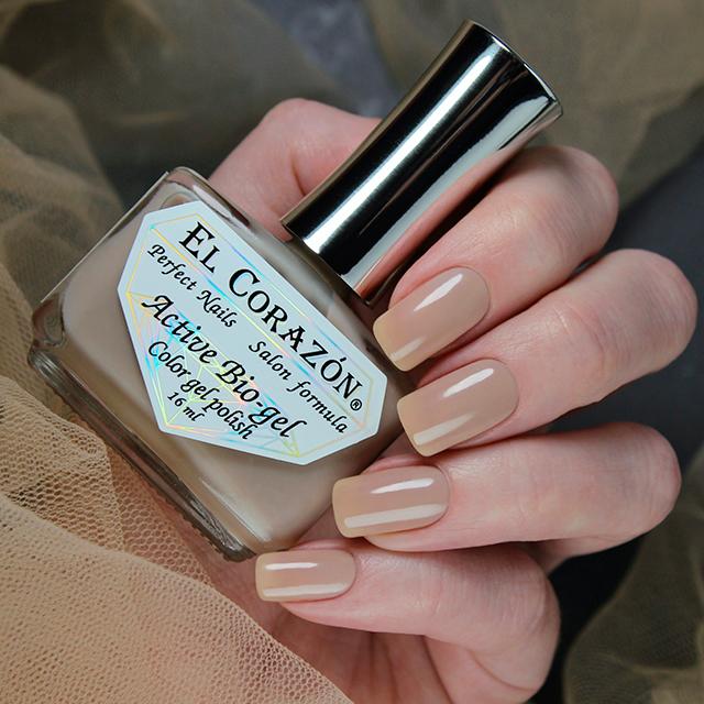 Купить El Corazon, Активный биогель Jelly Camouflage, №423/1323, Коричневый